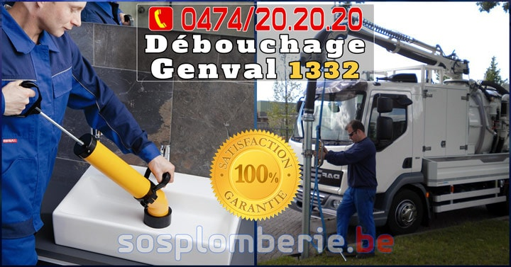 Débouchage Canalisation Genval 1332 Express
